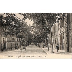 ABAO 46 - Lot [46] Cahors - Collège de Jeunes Filles et Boulevard Gambetta.
