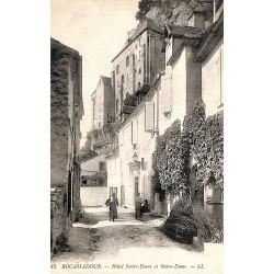 ABAO 46 - Lot [46] Rocamadour - Hôtel Notre-Dame et Notre-Dame.