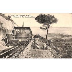 06 - Alpes Maritimes [06] La Turbie - Chemin de Fer à crémaillère.