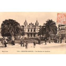 ABAO Monaco Monte-Carlo - Le Casino et Jardins.