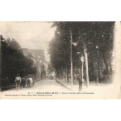 ABAO 64 - Pyrénées Atlantiques [64] Salies-de-Béarn - Cours du Jardin public et Promenade.
