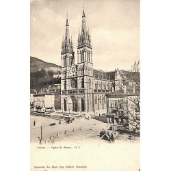 38 - Isère [38] Voiron - Eglise St. Bruno.