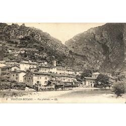 38 - Isère [38] Pont-en-Royans - Vue générale.