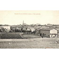 38 - Isère [38] Villette-d'Anthon - Vue générale.