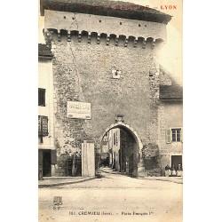 38 - Isère [38] Crémieu - Porte François Ier.