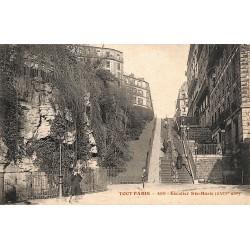 ABAO 75 - Paris [75] Paris - Escalier Ste-Marie.