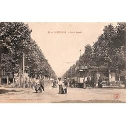 42 - Loire [42] Saint-Etienne - Cours Fauriel.