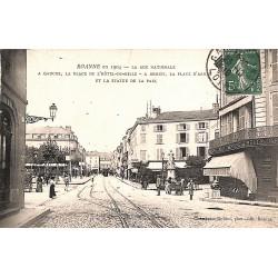 42 - Loire [42] Roanne - La rue Nationale.