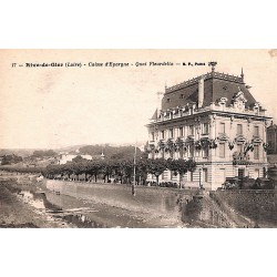 42 - Loire [42] Rive-de-Gier - Caisse d'Epargne. Quai Fleurdelix.