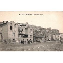42 - Loire [42] Saint-Chamond - Place Fourvieux.