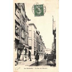 ABAO 17 - Charente-Maritime [17] La Rochelle - La Rue des Merciers.