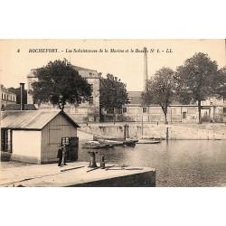 ABAO 17 - Charente-Maritime [17] Rochefort - Les Subsistances de la Marine et le Bassin.