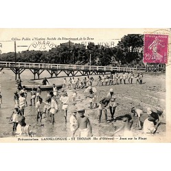 ABAO 17 - Charente-Maritime [17] Saint-Trojan-les-Bains - Jeux sur la Plage.