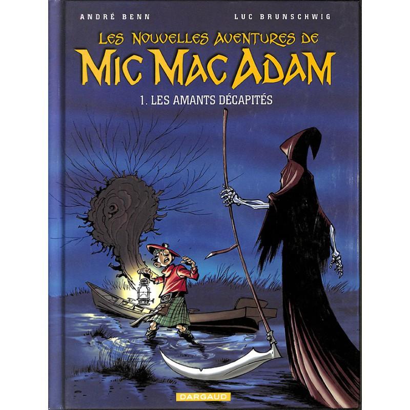 ABAO Bandes dessinées Les nouvelles aventures de Mic Mac Adam 01