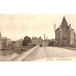 72 - Sarthe [72] La Flèche - Le Pont des Carmes.
