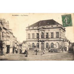 72 - Sarthe [72] Mamers - Le Théâtre.