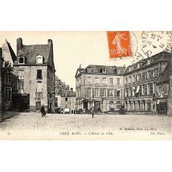 72 - Sarthe [72] Le Mans - Vieux Mans. L'Hôtel de Ville.
