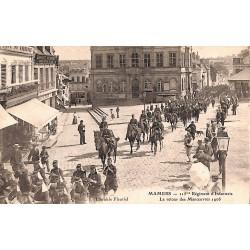 72 - Sarthe [72] Mamers - 115ème Régiment d'Infanterie. Le retour des Manoeuvres. 1906.