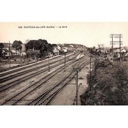 72 - Sarthe [72] Château-du-Loir - La Gare.
