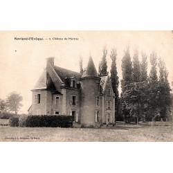 72 - Sarthe [72] Savigné-l'Evêque - Château de Mortrie.