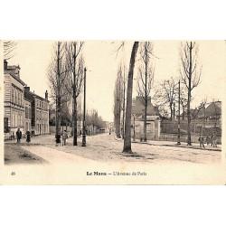 72 - Sarthe [72] Le Mans - L'Avenue de Paris.