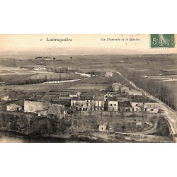 81 - Tarn [81] Labruguière - La Chaussée et le Moulin.