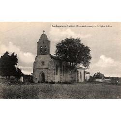 82 - Tarn-et-Garonne [82] Durfort-Lacapelette - L'Eglise St. Paul.