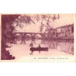 82 - Tarn-et-Garonne [82] Montauban - Le Pont. Un Coin du Treil.