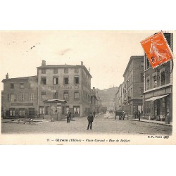 ABAO 69 - Rhône [69] Givors - Place Carnot. Rue de Belfort.