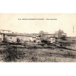 69 - Rhône [69] Saint-Laurent-d'Agny - Vue Générale.