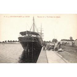 ABAO 17 - Charente-Maritime [17] Rochefort-sur-Mer - Bassin n°3. Un Coin des Quais.