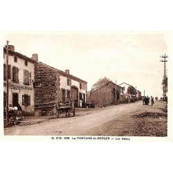 63 - Puy-de-Dôme [63] La-Fontaine-du-Berger - Les Hôtels.
