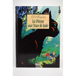 ABAO Bandes dessinées La déesse aux yeux de jade + Ex-libris