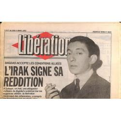 ABAO Libération Libération. 04/03/1991. Nouvelle série n°3043.