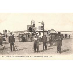 ABAO 14 - Calvados [14] Deauville - Le Champ de Courses. Le Pari mutuel à la Pelouse.
