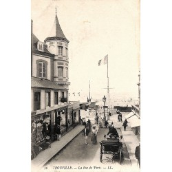 ABAO 14 - Calvados [14] Trouville - La Rue de Paris.