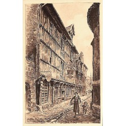 ABAO 14 - Calvados [14] Honfleur - Musée du Vieux Honfleur. 9 CARTES.