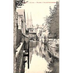 ABAO 14 - Calvados [14] Bayeux - L'Aure. Moulin à Tan et Poissonnerie.