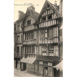 ABAO 14 - Calvados [14] Caen - Maisons de la Rue Saint-Pierre.