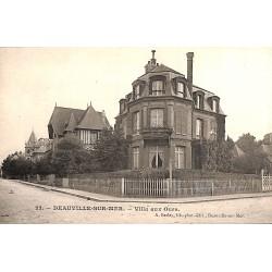 ABAO 14 - Calvados [14] Deauville - Villa aux Oours.