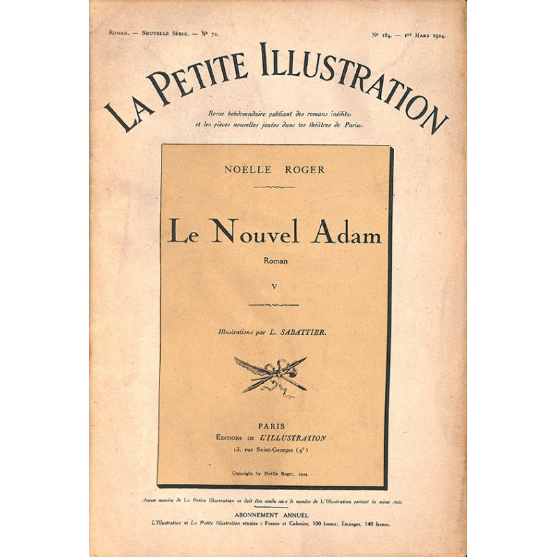 ABAO Journaux et périodiques La Petite Illustration. 1924/03/01. N°184.
