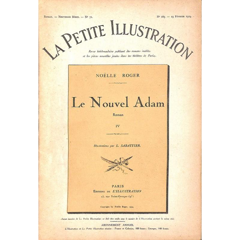 Journaux et périodiques La Petite Illustration. 1924/02/23. N°183.