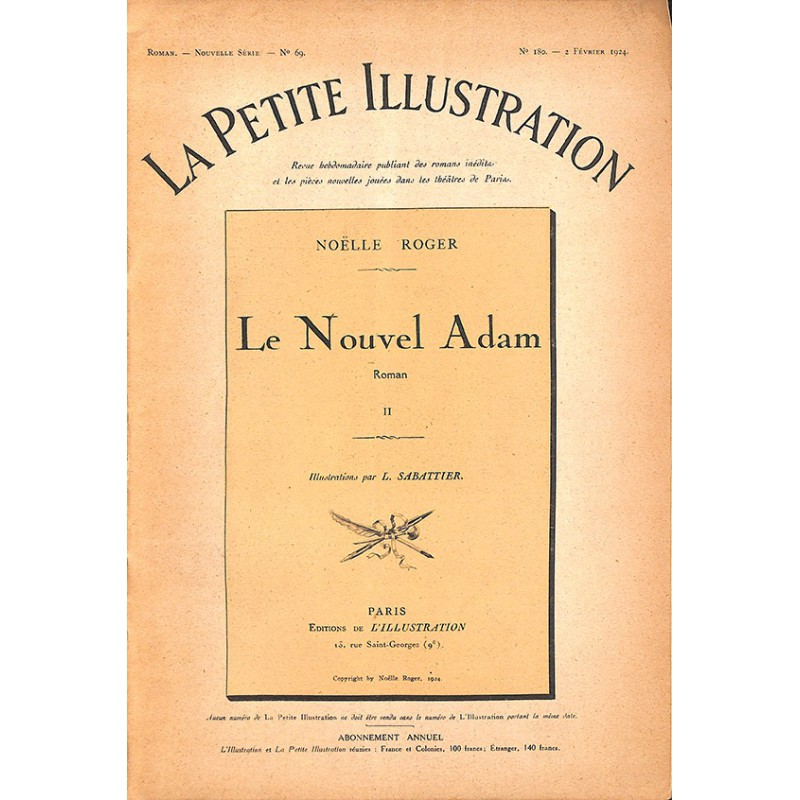Journaux et périodiques La Petite Illustration. 1924/02/02. N°180.