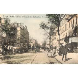 ABAO 75 - Paris [75] Paris - Avenue de Clichy. Station des Omnibus.