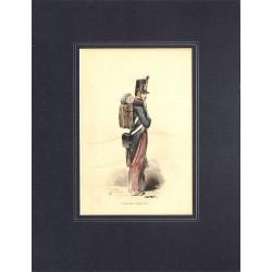 ABAO Gravures [Militariat] PAUQUET, Hippolyte.- ELEVE DE SAINT-CYR.