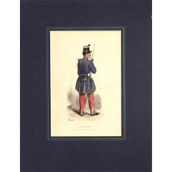 Gravures [Militariat] PAUQUET, Hippolyte.- INFANTERIE. Nouvel uniforme, 1842.