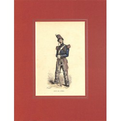 Gravures [Militariat] PAUQUET, Hippolyte.- ELEVE DE SAUMUR.