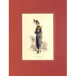 ABAO Gravures [Militariat] PAUQUET, Hippolyte.- OFFICIER D'ARTILLERIE.