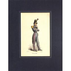 ABAO Gravures [Militariat] PAUQUET, Hippolyte.- ELEVE DE METZ.