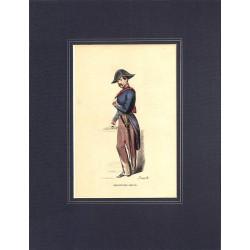 Gravures [Militariat] PAUQUET, Hippolyte.- CHIRURGIEN-MAJOR.